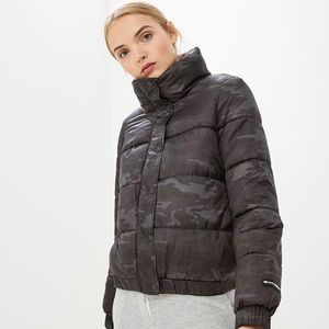 DKNY Camo Print Jacket
